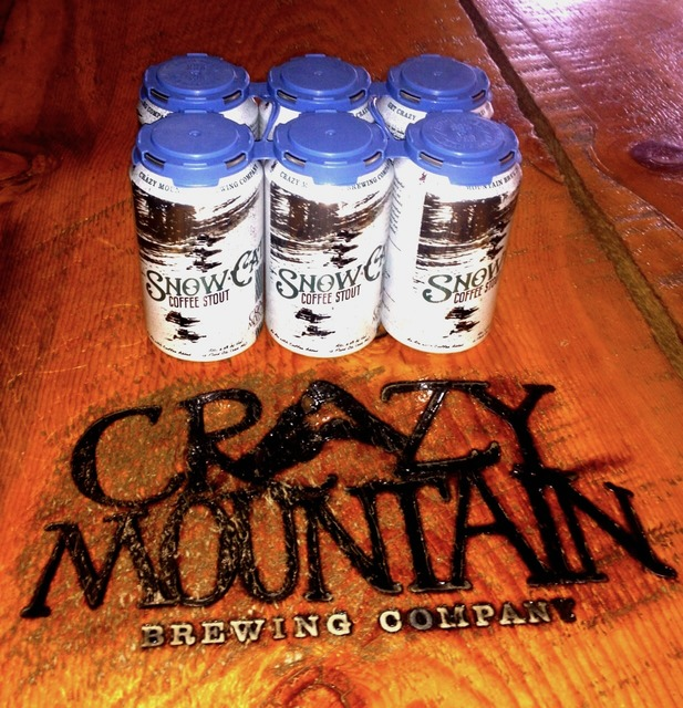 Beer Review: Crazy Mountain Brewery's Snowcat Coffee Stout