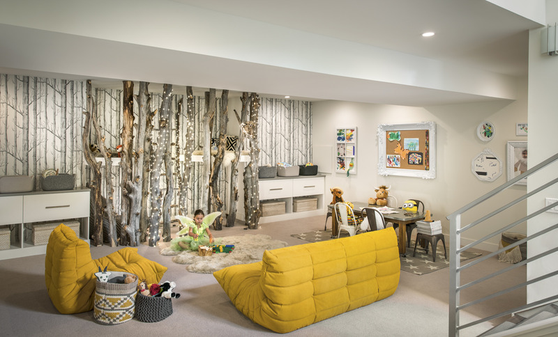 A Whimsical Playroom (With Real Trees!) - 5280