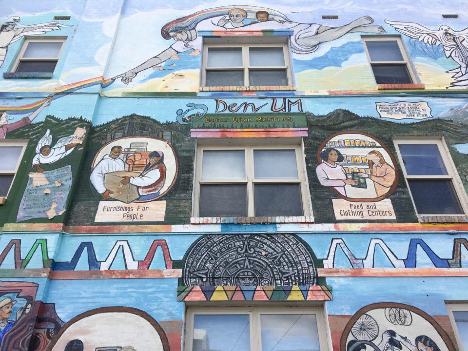 Denver Urban Ministries mural