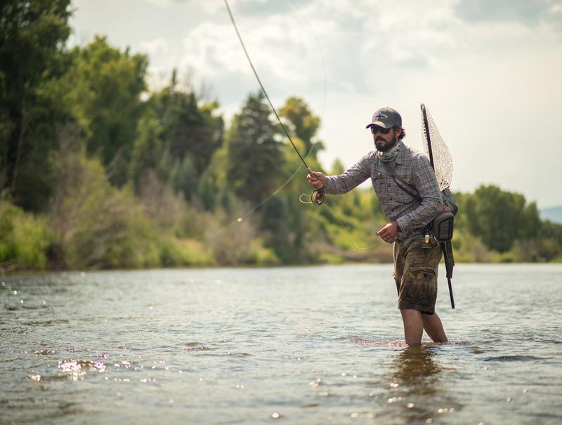 Paul Bruchez fly-fishing