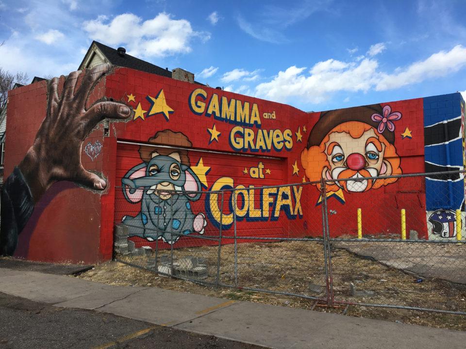 Gamma and Graves street art
