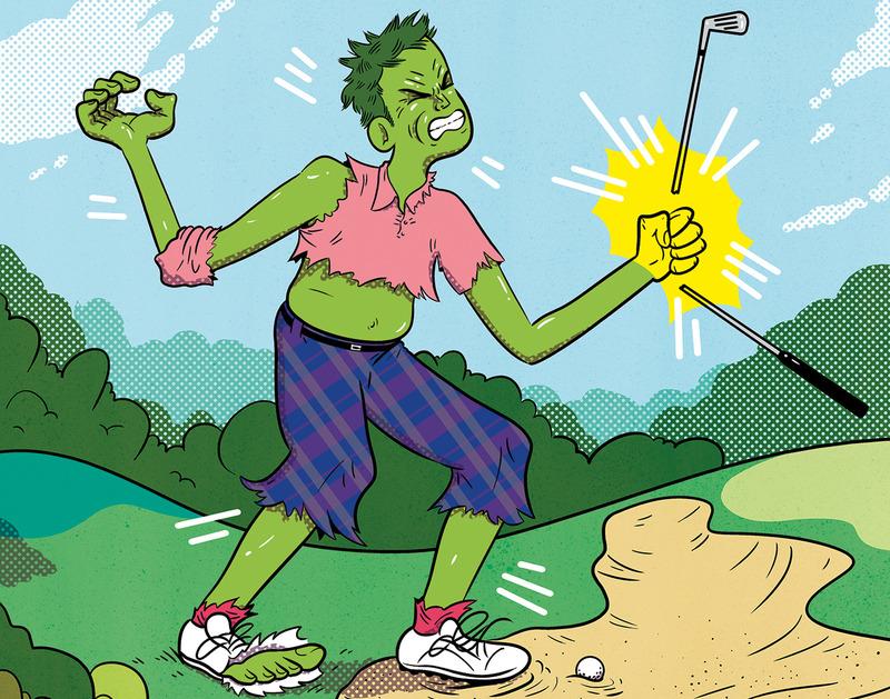 Golf Course Hulk