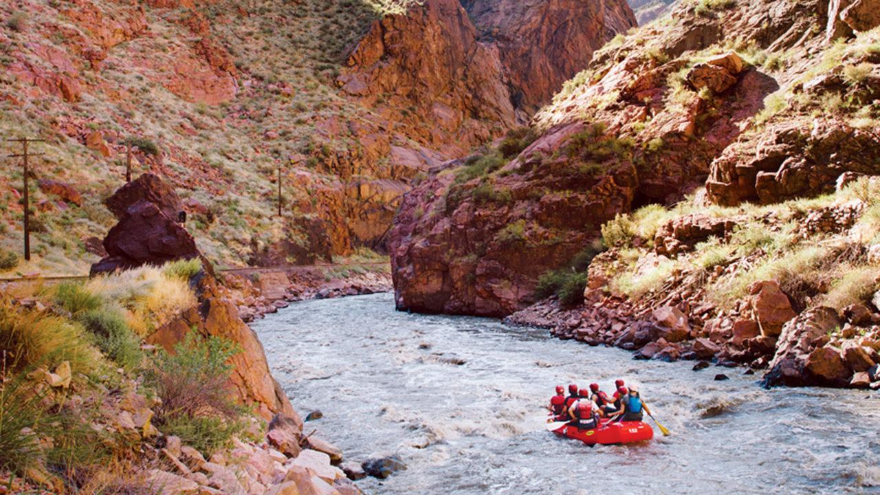 Royal Gorge white-water rafting