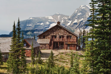 Heavens Peak Glacier National Park
