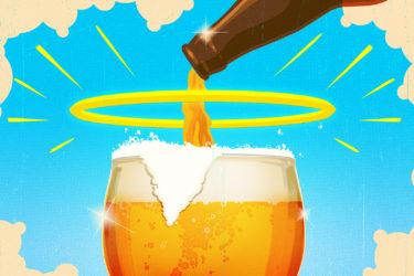 Daniel Downey beer illo