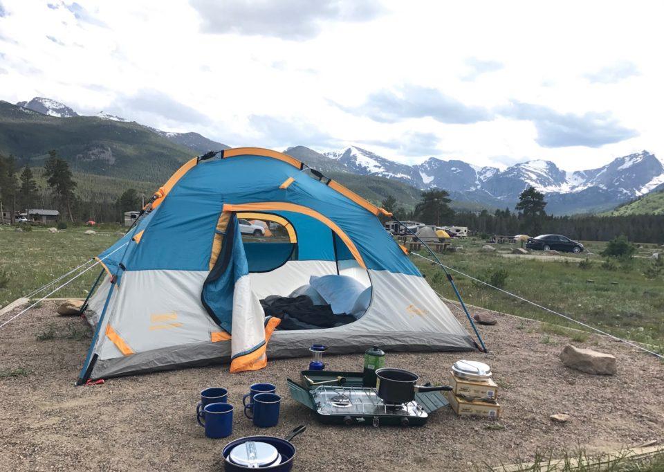 Ridden camping kits