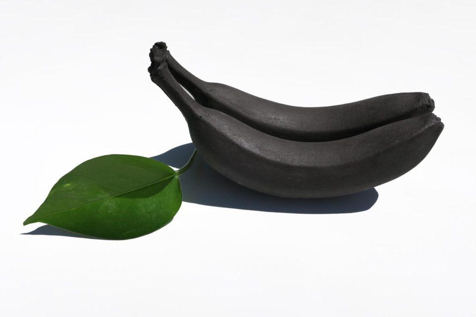 Studio Shell banana sculpture