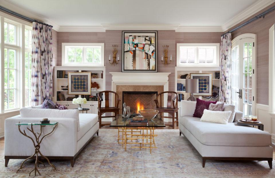 Andrea Schumacher elegant living room