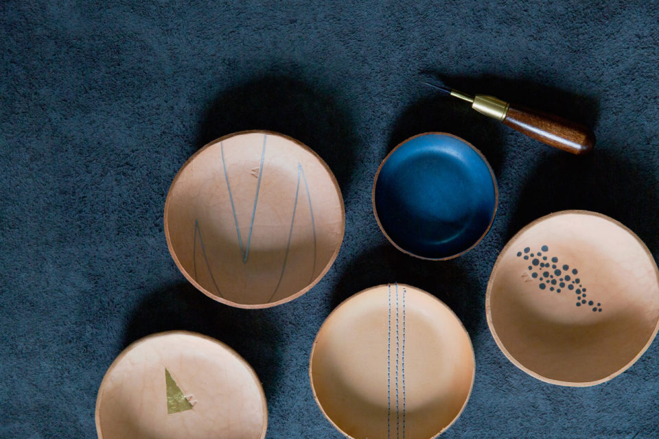 Alexa-Leather-Bowls