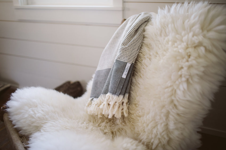 hygge life sheepskin chair