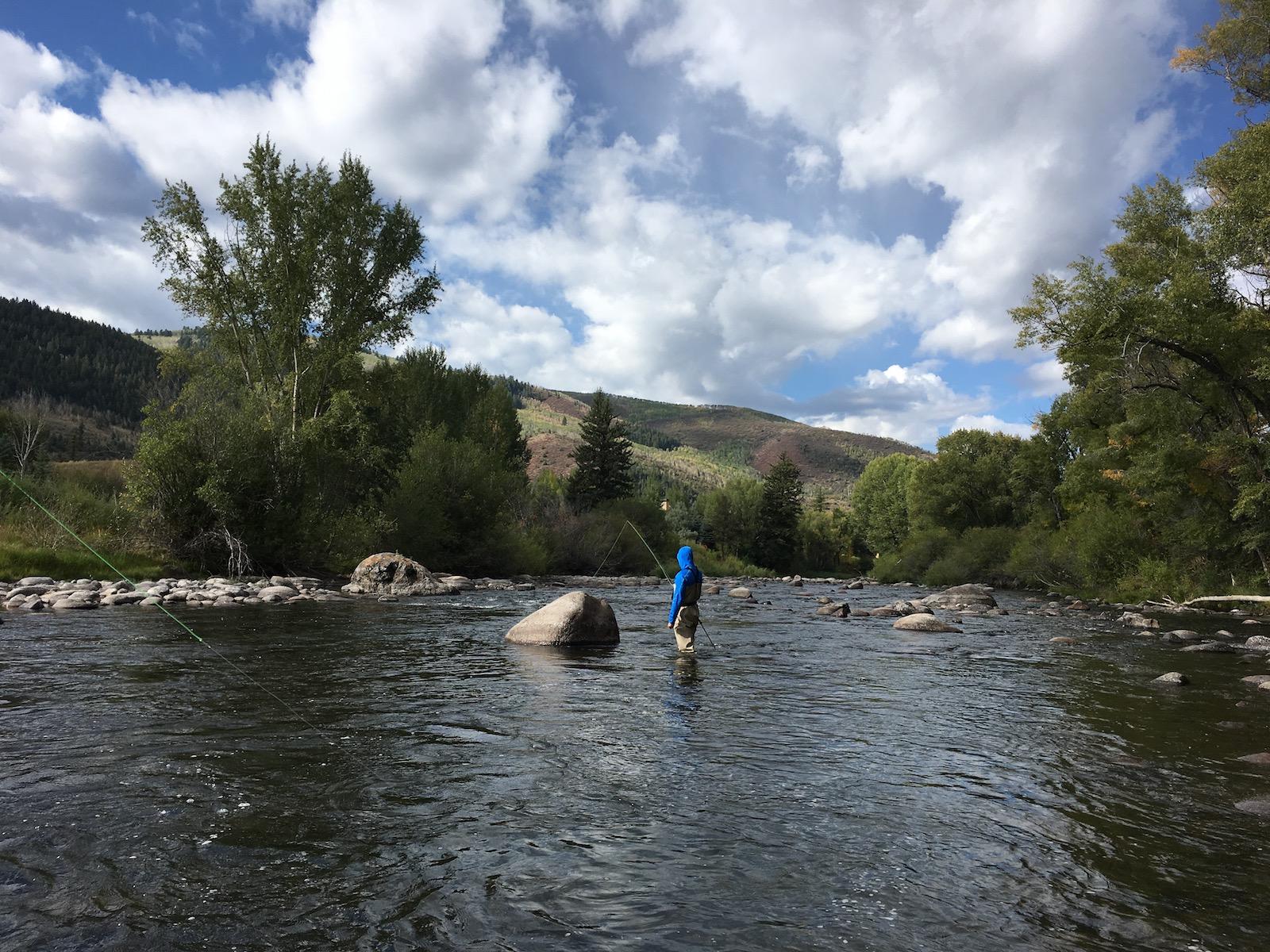 Fishing Beaver Creek