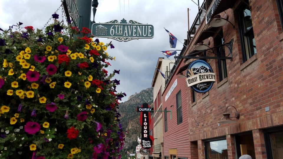 Main Street in Ouray
