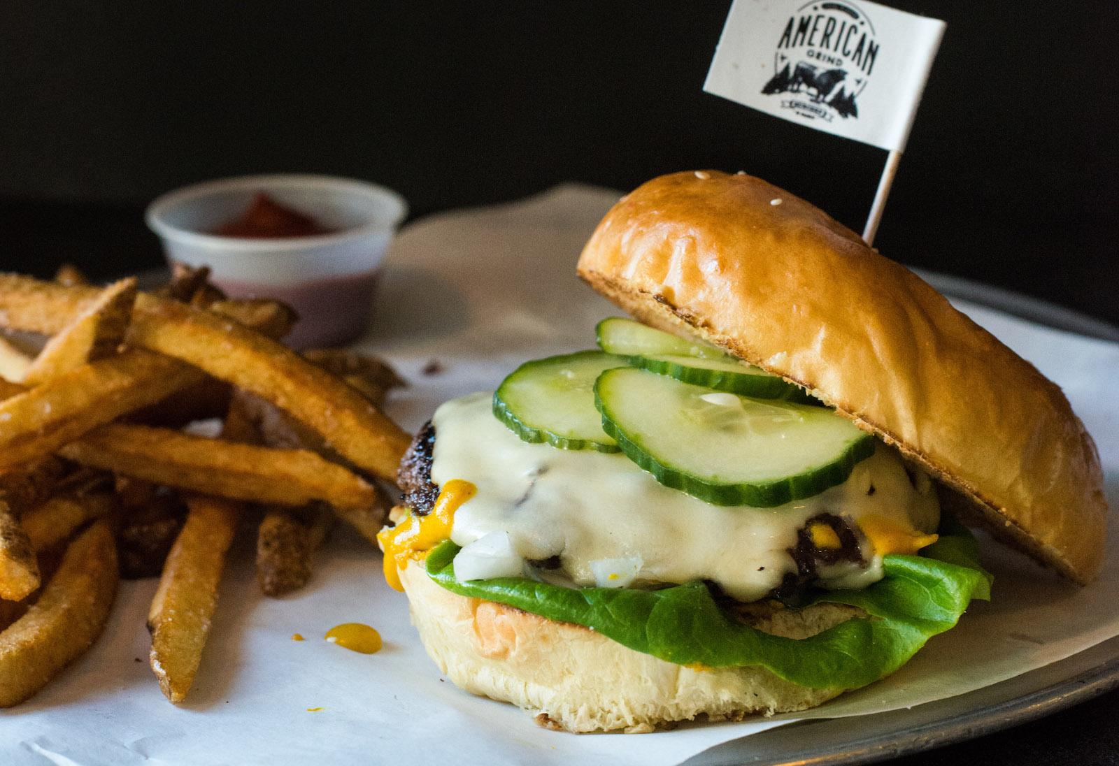 American Grind burger
