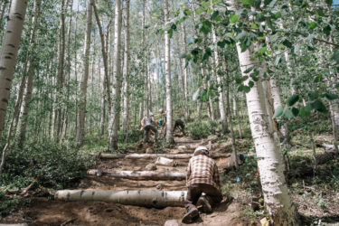 Mt. Elbert trail maintenance