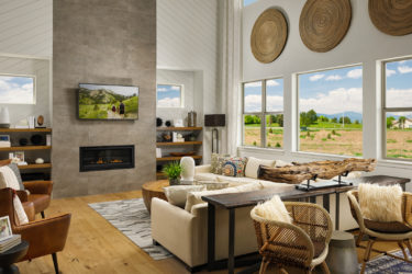 epic homes mount oso great room