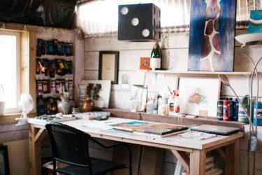 Cedar Ridge Ranch, artist studio
