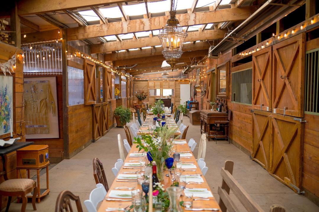 Cedar Ridge Ranch, barn