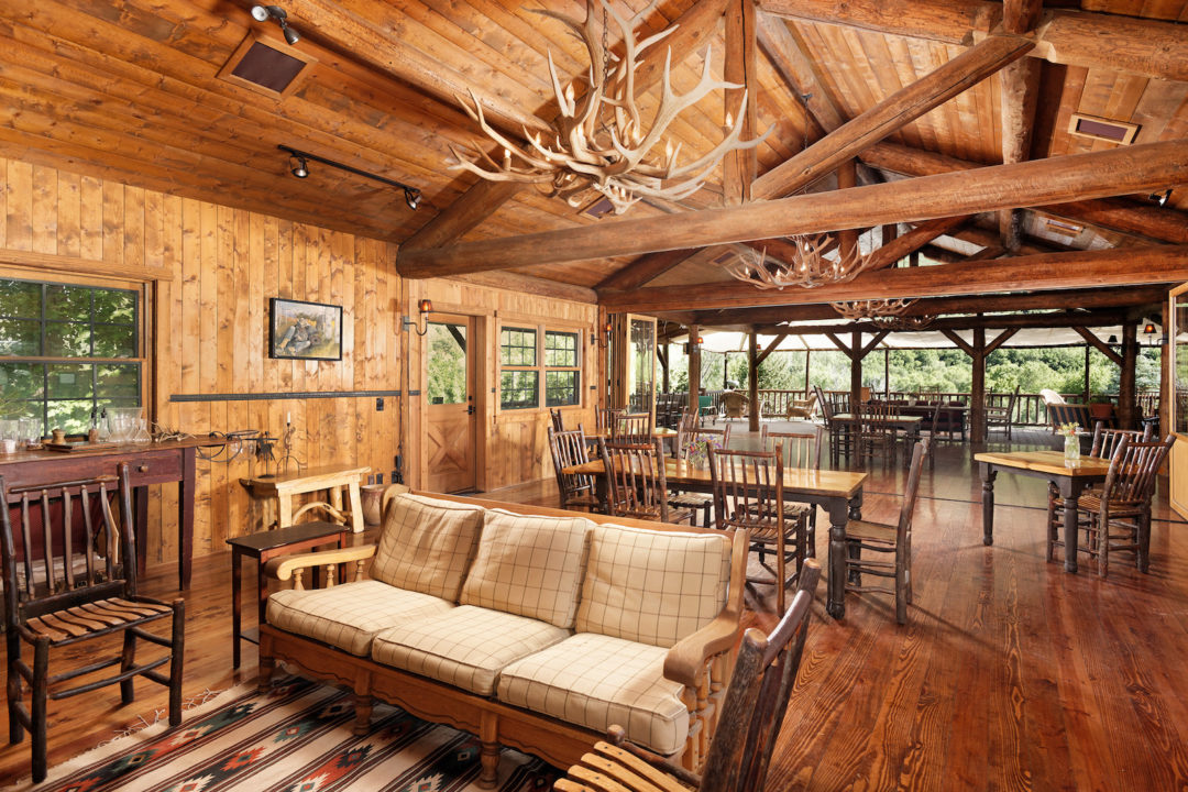 smith fork ranch dining room Photo courtesy of Coldwell Banker Mason Morse
