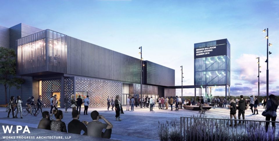 AEG RiNo concert hall Rendering courtesy of Works Progress Architecture