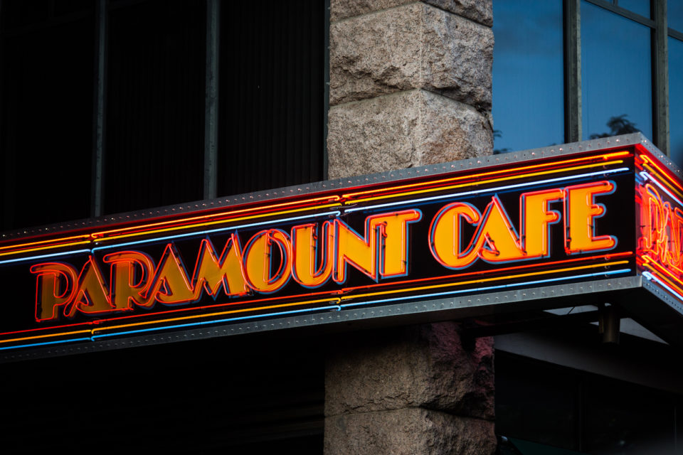 The Paramount Cafe