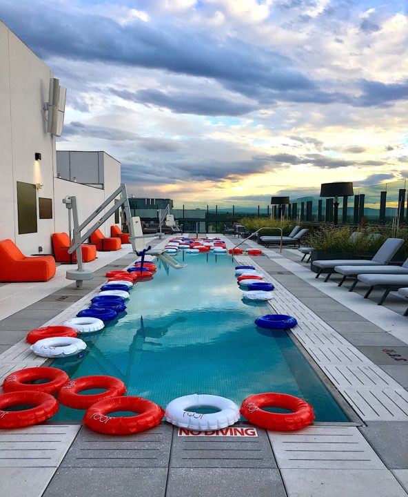 jacquard rooftop pool photo by christine deorio