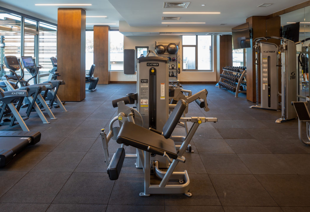 st paul collection gym photo by Adams Visual Communications