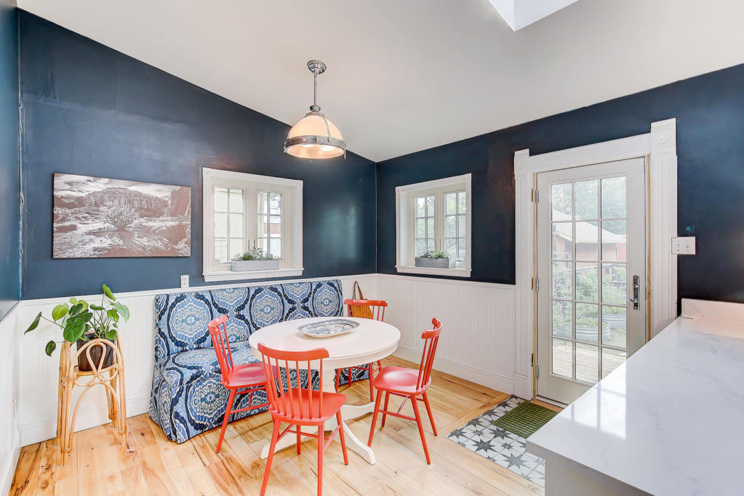 2222 Irving kitchen nook Photo courtesy of Live Urban Real Estate