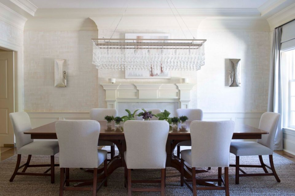 Why We Love The Linear Chandelier 5280, Linear Chandelier Dining Room