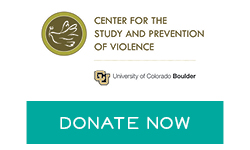 CU Center for the study of prevention of Violence logo