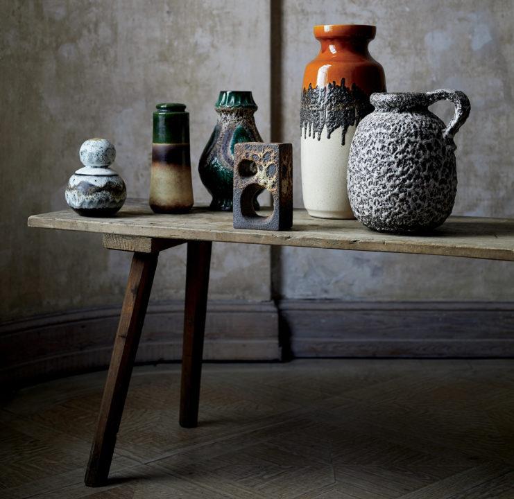 CB2 vintage pottery