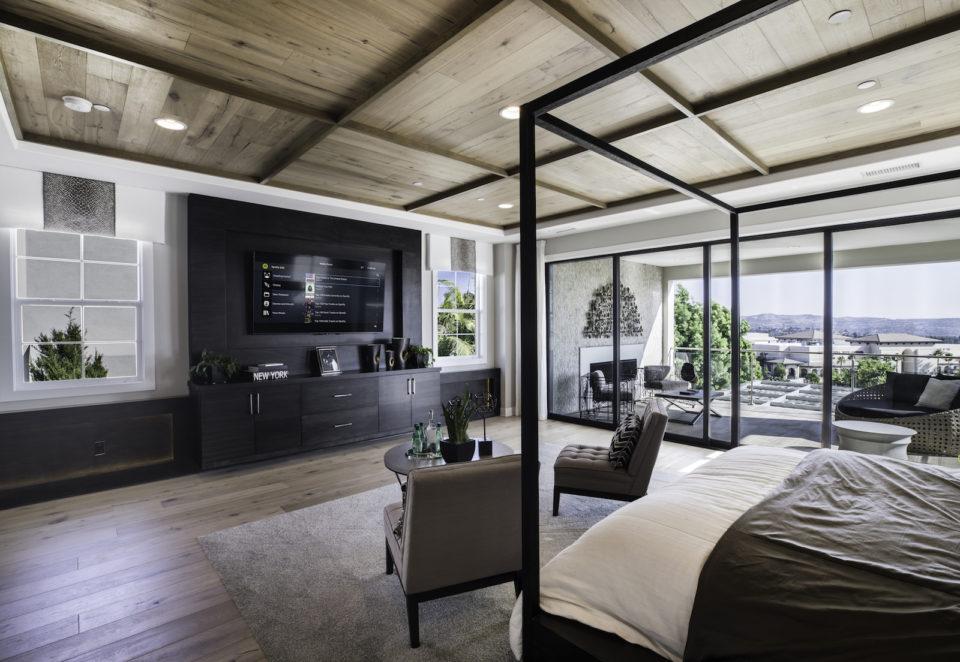 control4 bedroom