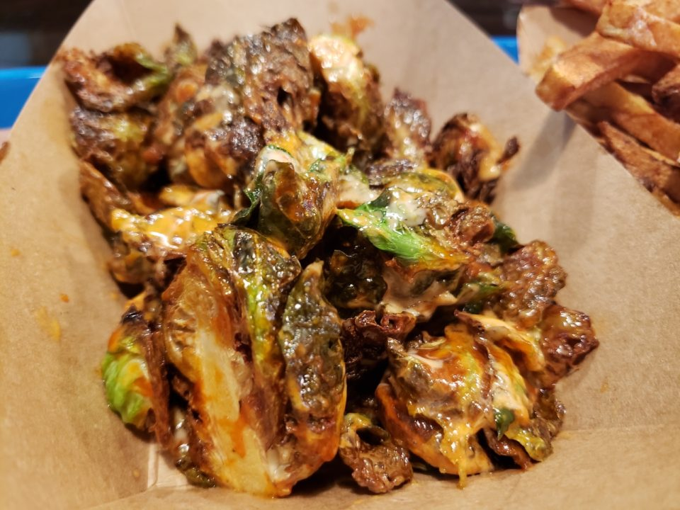 Post Oak Barbecue fried Brussels sprouts