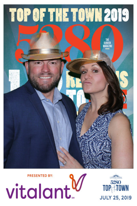 5280 Top of the Town 2019: Cover Photo Station Sponsored by Vitalant