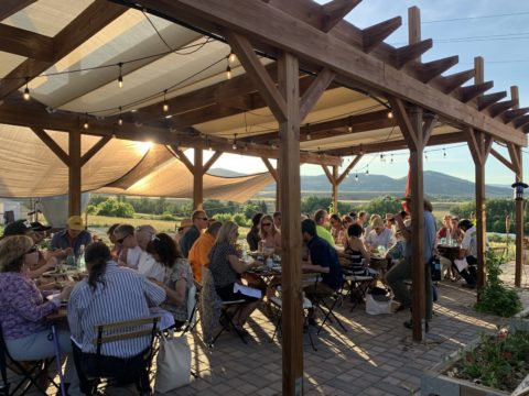 Have A Farm To Table Dinner At Black Cat Farm In Longmont