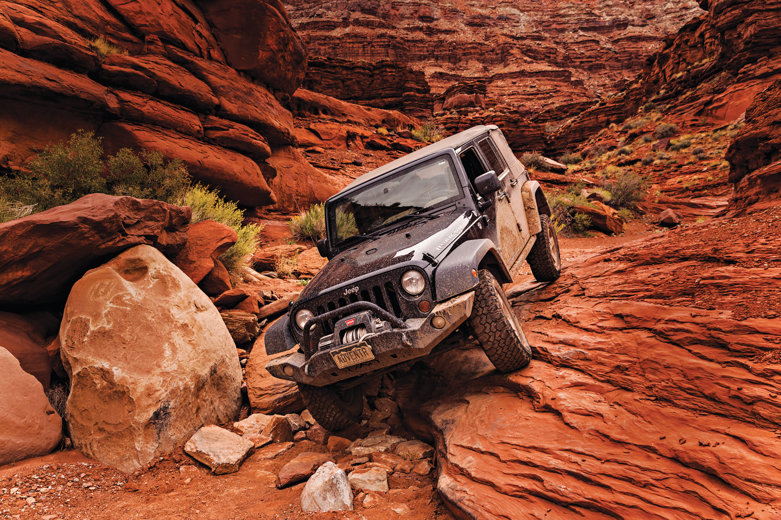 Off-Roading In Utah's Lockhart Basin - 5280