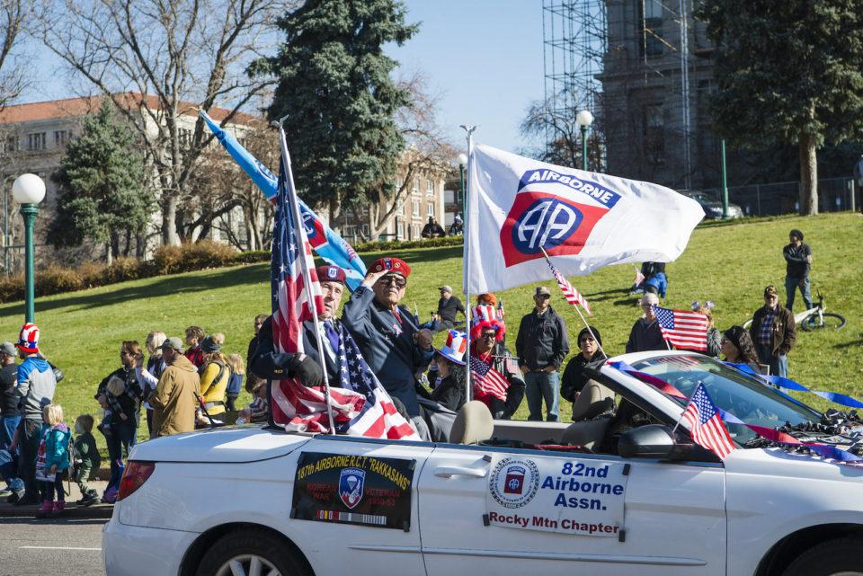 Parade Colorado Veterans Day
