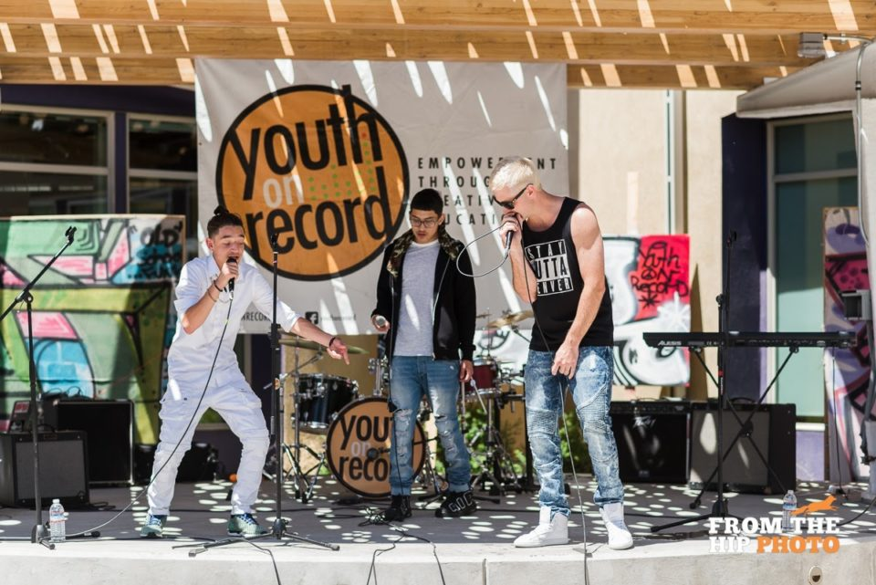 Youth on Record students perform