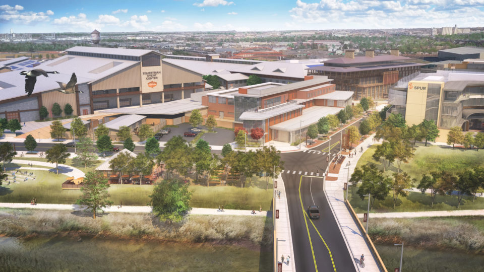 National Western Stock Show Riverfront Rendering