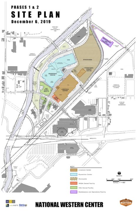National Western Stock Show Site Plan