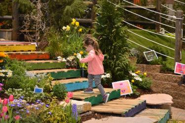 Colorado Garden and Home Show Girl Running