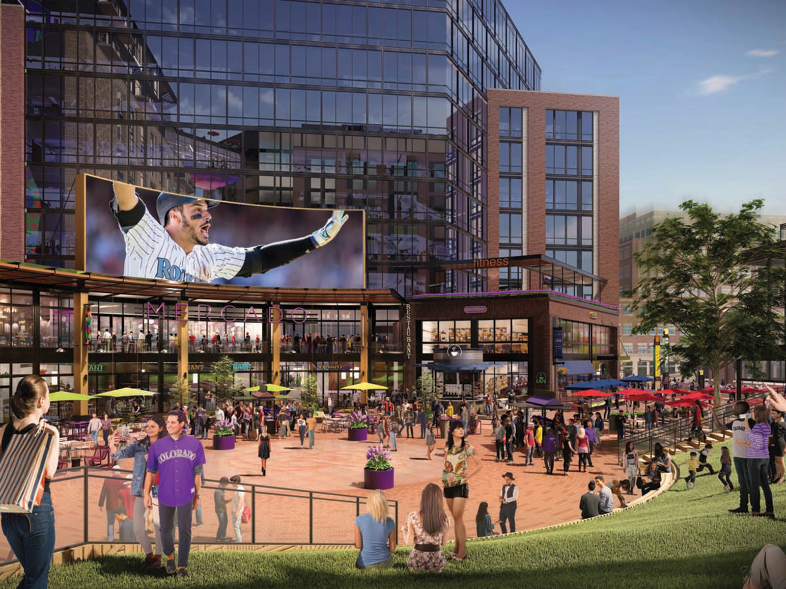 A Look Inside the Rockies Highly Anticipated McGregor Square Development - 5280