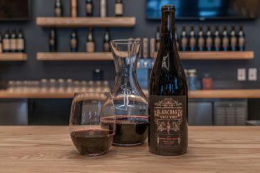 Blanchard wine bottles