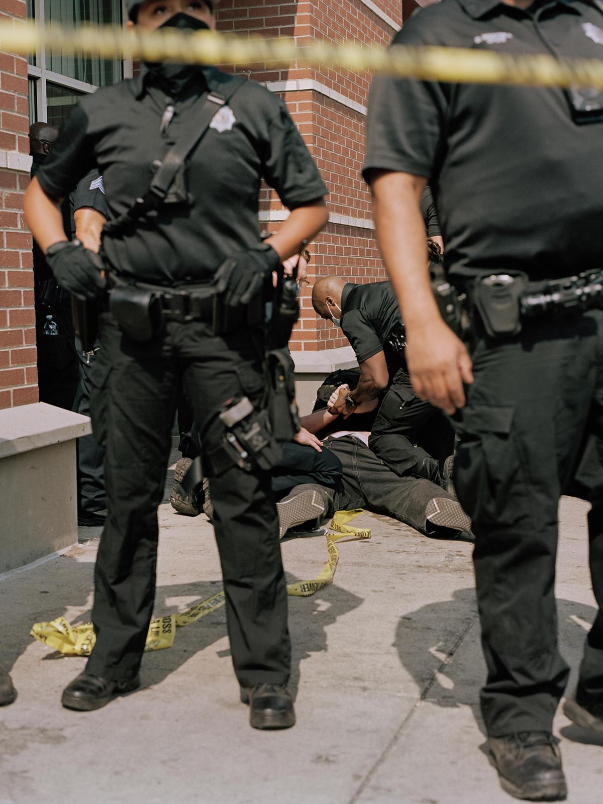 Police Sweep