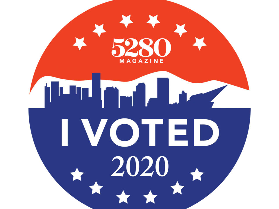I voted sticker 2020