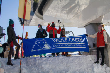 Wolf Creek Ski Area opening day