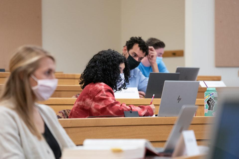 University of Denver classroom