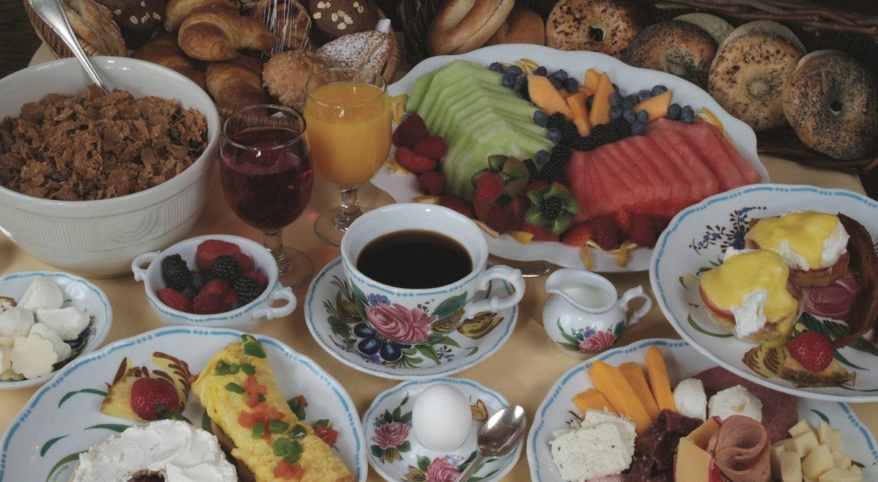 Breakfast at the Sonnenalp