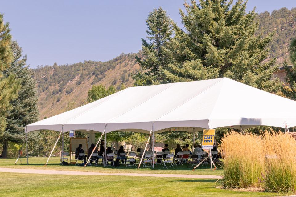 tent classroom