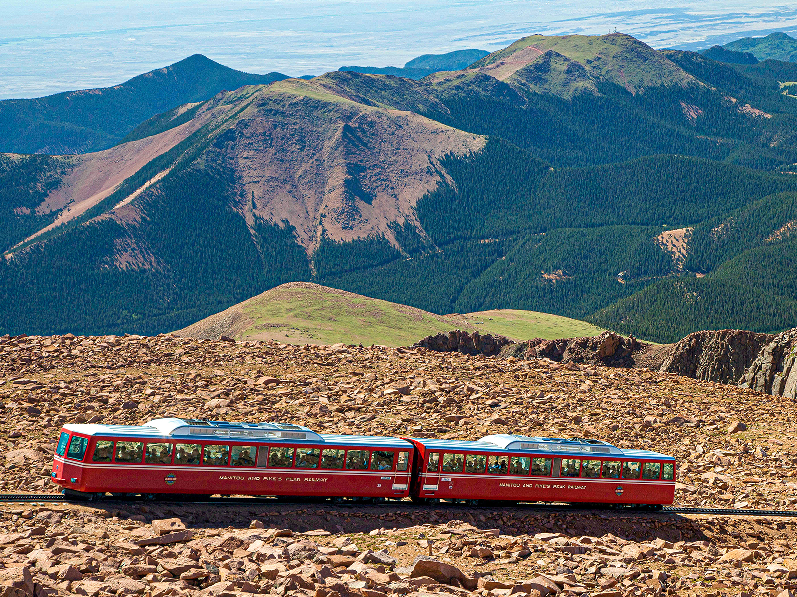 The Pikes Peak Cog Railway Is Back on Track