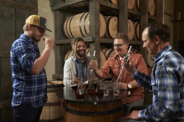 Whiskey Blending Lab at Breckenridge Distillery